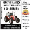 Verkstadshandbok till Massey Ferguson MF 675, 690, 698