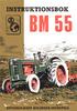 Instruktionsbok Bolinder Munktell Bm 55