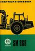 Thumbnail Instruktionsbok Volvo BM SM 868