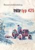 Thumbnail Reservdelskatalog Volvo BM 425 Traktor