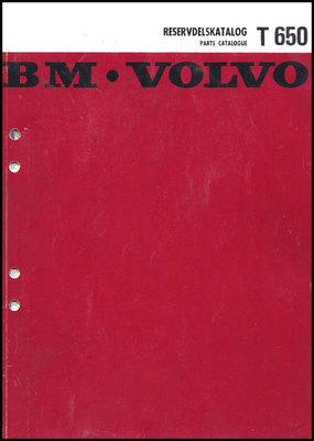 Product picture Reservdelskatalog Volvo BM T 650