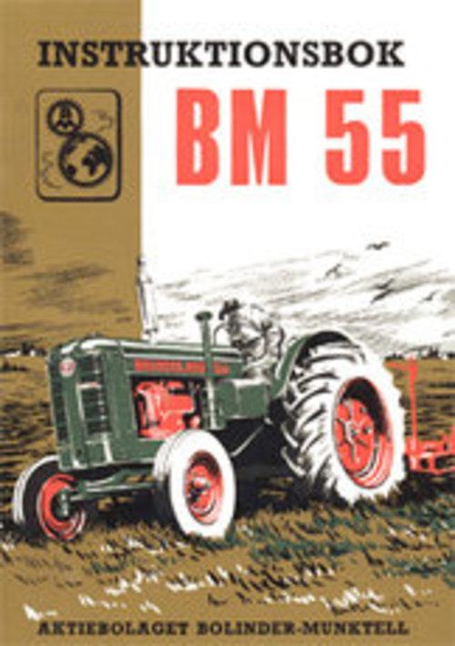 Product picture Instruktionsbok Bolinder Munktell Bm 55