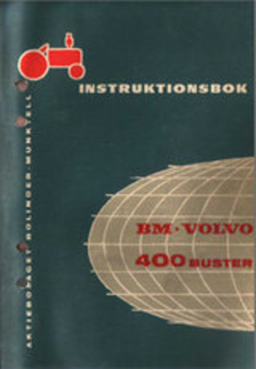 Product picture Instruktionsbok Volvo BM 400 Buster