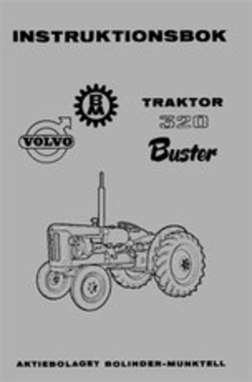 Product picture Instruktionsbok Volvo BM 320 Buster