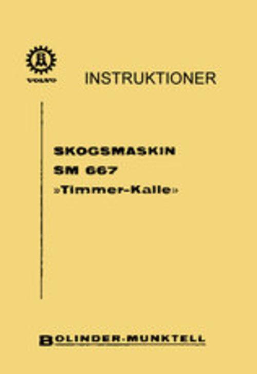 Product picture Instruktionsbok Volvo BM SM 667 Timmer-kalle