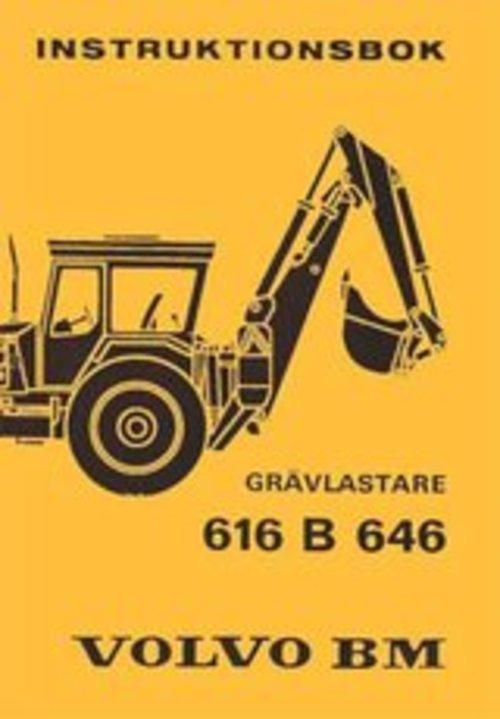 Product picture  Instruktionsbok till Volvo BM 616 B & 646