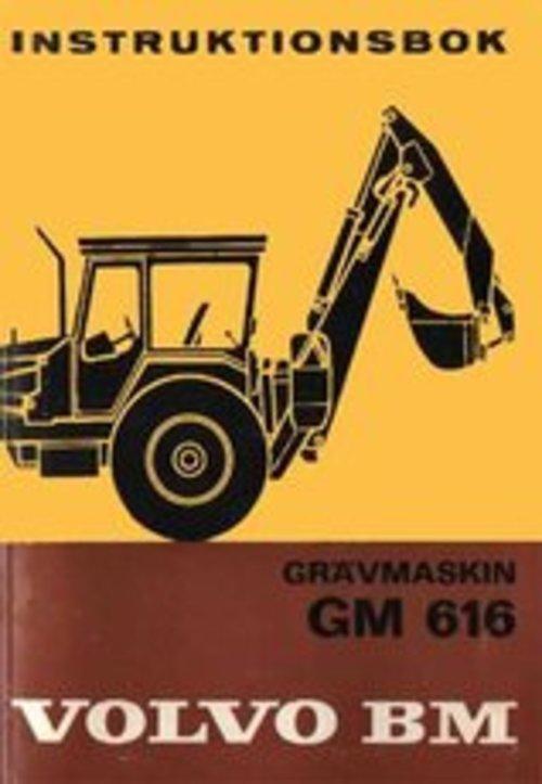 Product picture Instruktionsbok Volvo BM GM 616