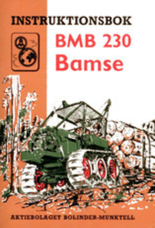 Product picture Instruktionsbok BMB 230 Bamse