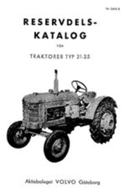Product picture Reservdelskatalog Volvo T21 - T25 Traktor