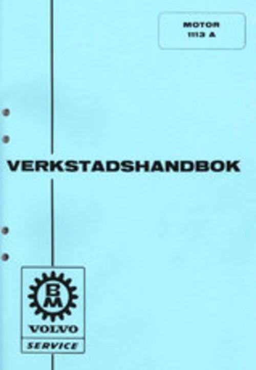 Product picture Verkstadshandbok till Volvo BM Motor 1113 A