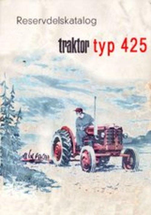 Product picture Reservdelskatalog Volvo BM 425 Traktor