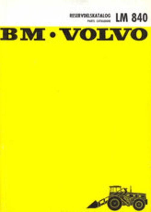 Product picture Reservdelskatalog Volvo BM LM 840