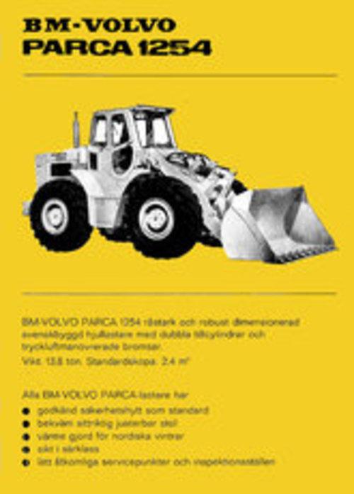 Product picture Reservdelskatalog Volvo BM Parca 1254