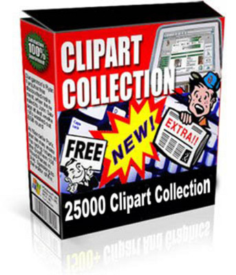 Product picture Clipart Collection - 25 000